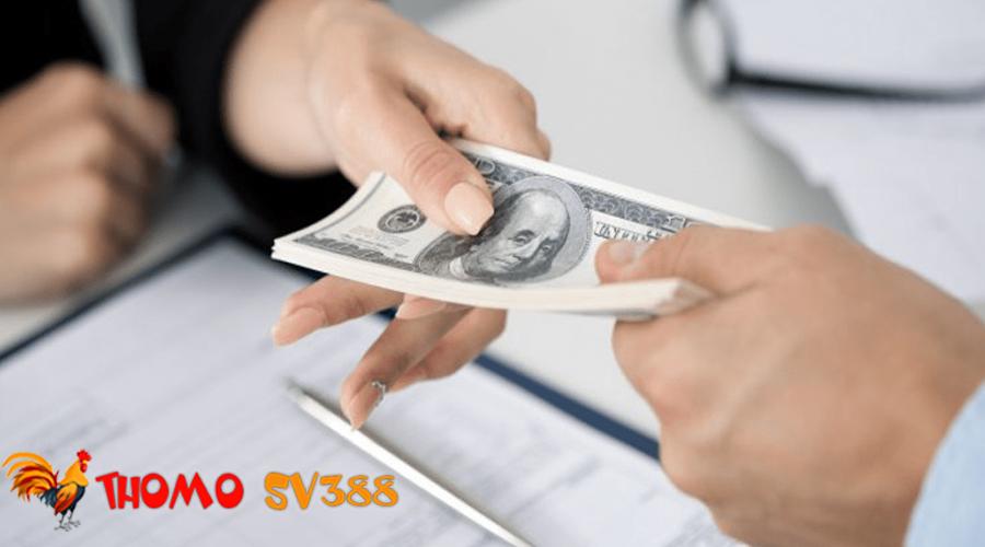 Rút tiền ThomoSV388 về tài khoản ngân hàng