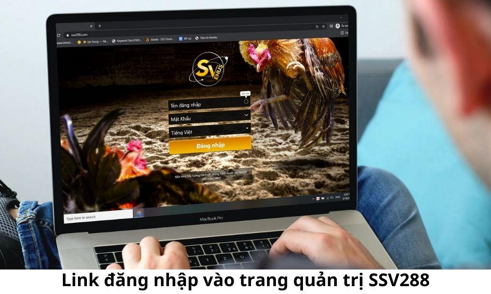 Link đăng nhập vào trang quản trị SSV288
