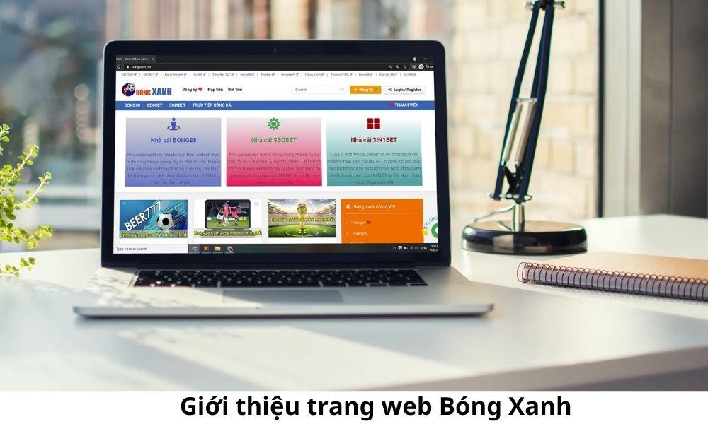 Giới thiệu trang web Bóng Xanh